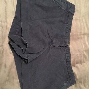 Navy blue GAP khaki shorts